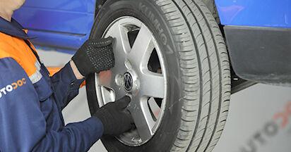 Come rimuovere VW LUPO 1.4 TDI 2002 Ammortizzatori - istruzioni online facili da seguire