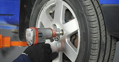 VW LUPO 1.0 Koppelstange ausbauen: Anweisungen und Video-Tutorials online