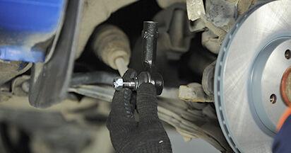 Wie schwer ist es, selbst zu reparieren: Spurstangenkopf VW Lupo 6x1 1.6 GTI 2004 Tausch - Downloaden Sie sich illustrierte Anleitungen
