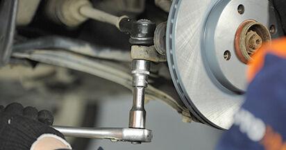 Spurstangenkopf beim VW LUPO 1.4 FSI 2005 selber erneuern - DIY-Manual
