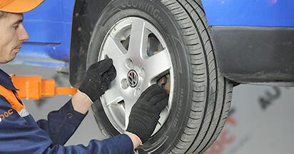 VW LUPO 1.0 Spurstangenkopf ausbauen: Anweisungen und Video-Tutorials online