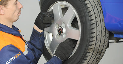 Wie Radnabe VW LUPO (6X1, 6E1) 1.0 1999 austauschen - Schrittweise Handbücher und Videoanleitungen