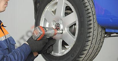 Wechseln Hauptbremszylinder am VW LUPO (6X1, 6E1) 1.4 16V 2001 selber
