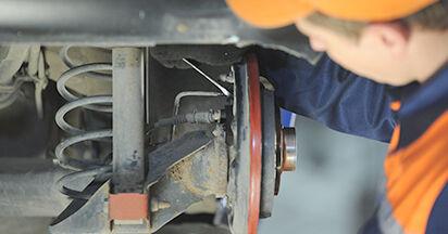 Wie VW LUPO 1.4 TDI 2002 Hauptbremszylinder ausbauen - Einfach zu verstehende Anleitungen online