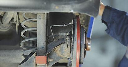 Hauptbremszylinder am VW LUPO (6X1, 6E1) 1.7 SDI 2003 wechseln – Laden Sie sich PDF-Handbücher und Videoanleitungen herunter