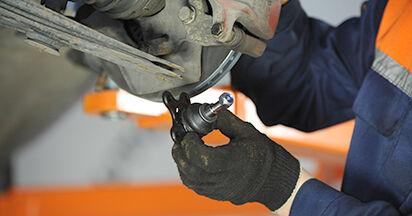 Traggelenk beim VW LUPO 1.4 FSI 2005 selber erneuern - DIY-Manual