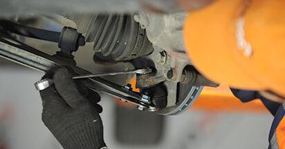 Austauschen Anleitung Traggelenk am VW Lupo 6x1 2000 1.2 TDI 3L selbst
