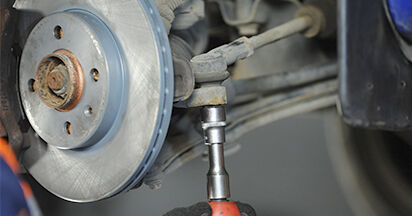 Traggelenk VW Lupo 6x1 1.4 2000 wechseln: Kostenlose Reparaturhandbücher