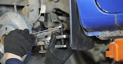 Wechseln Traggelenk am VW LUPO (6X1, 6E1) 1.4 16V 2001 selber