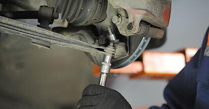 Wie schwer ist es, selbst zu reparieren: Traggelenk VW Lupo 6x1 1.6 GTI 2004 Tausch - Downloaden Sie sich illustrierte Anleitungen