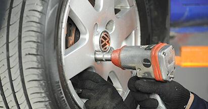 Stapsgewijze aanbevelingen om zelf VW Lupo 6x1 2003 1.4 TDI Remschijven vervangen