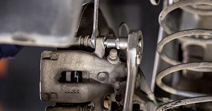 Tausch Tutorial Bremsbeläge am CITROËN C3 I (FC_) 2014 wechselt - Tipps und Tricks