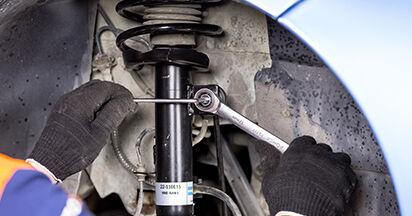 CITROËN C3 I (FC_) 1.4 i 2004 Stoßdämpfer austauschen: Unentgeltliche Reparatur-Tutorials