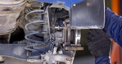 Wie schwer ist es, selbst zu reparieren: Radlager CITROËN C3 I (FC_) 1.4 i Bivalent 2008 Tausch - Downloaden Sie sich illustrierte Anleitungen