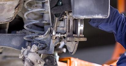 Radlager beim CITROËN C3 1.4 16V 2009 selber erneuern - DIY-Manual