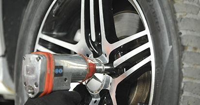 Come cambiare Pastiglie Freno su Mercedes W211 2002 - manuali PDF e video gratuiti
