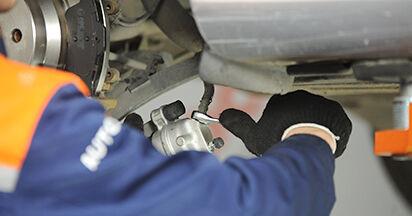 Consigli passo-passo per la sostituzione del fai da te Mercedes W211 2007 E 280 CDI 3.0 (211.020) Pinza Freno