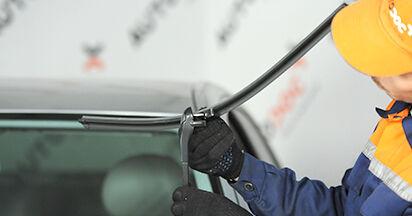 Quanto è difficile il fai da te: sostituzione Tergicristalli su Mercedes W211 E 320 CDI 3.0 (211.022) 2008 - scarica la guida illustrata