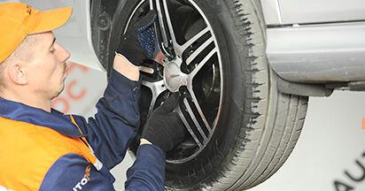 La sostituzione di Biellette Barra Stabilizzatrice su Mercedes W211 2002 non sarà un problema se segui questa guida illustrata passo-passo