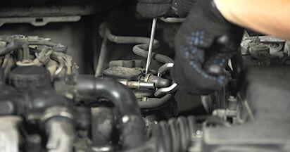 Wechseln Kraftstofffilter am FORD FOCUS II Estate (DA_) 1.8 TDCi 2007 selber