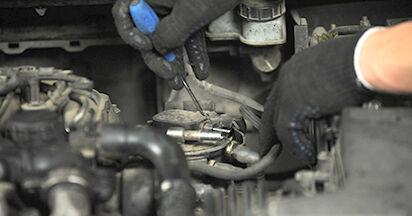 Wie FORD FOCUS 1.6 Ti 2008 Kraftstofffilter ausbauen - Einfach zu verstehende Anleitungen online