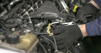 Peugeot 407 Limousine 1.6 HDi 110 2006 Kraftstofffilter austauschen: Unentgeltliche Reparatur-Tutorials
