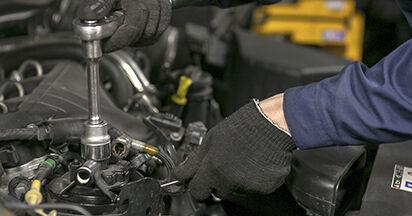 Wie man Kraftstofffilter beim PEUGEOT 407 (6D_) 2009 auswechselt – Downloaden Sie sich PDF-Tutorials und Videoanleitungen herunter