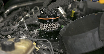 How hard is it to do yourself: Fuel Filter replacement on Peugeot 407 Saloon 2.0 16V 2010 - download illustrated guide
