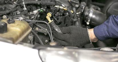 Wechseln Sie Kraftstofffilter beim PEUGEOT 407 (6D_) 1.8 2007 selbst aus
