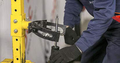 Cómo cambiar Amortiguadores en un Peugeot 407 Berlina 2004 - Manuales en PDF y en video gratuitos
