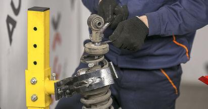 Cómo es de difícil hacerlo usted mismo: reemplazo de Amortiguadores en un Peugeot 407 Berlina 2.0 16V 2010 - descargue la guía ilustrada