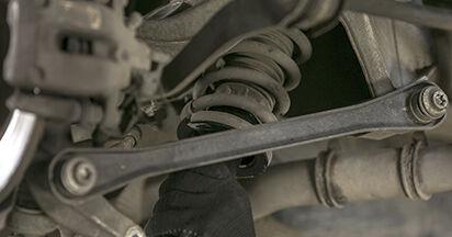Cambio Amortiguadores en Peugeot 407 Berlina 2004 no será un problema si sigue esta guía ilustrada paso a paso
