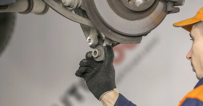 Cómo reemplazar Amortiguadores en un PEUGEOT 407 (6D_) 2009: descargue manuales en PDF e instrucciones en video