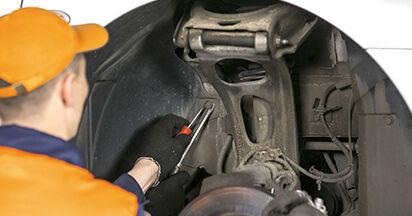 Peugeot 407 Berline 1.6 HDi 110 2006 Amortisseurs remplacement : manuels d'atelier gratuits