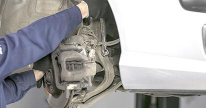 Wie schwer ist es, selbst zu reparieren: Federn Peugeot 407 Limousine 2.0 16V 2010 Tausch - Downloaden Sie sich illustrierte Anleitungen
