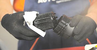 Ölfilter Opel Astra h l48 1.4 (L48) 2006 wechseln: Kostenlose Reparaturhandbücher