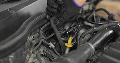 Kraftstofffilter Opel Astra h l48 1.4 (L48) 2006 wechseln: Kostenlose Reparaturhandbücher