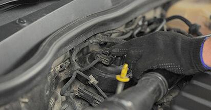 Wie Kraftstofffilter Opel Astra h l48 1.7 CDTI (L48) 2004 tauschen - Kostenlose PDF- und Videoanleitungen