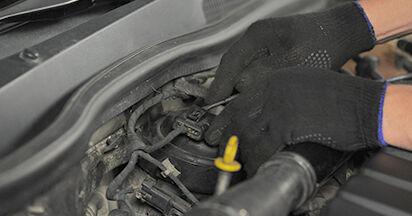 Wie Kraftstofffilter OPEL ASTRA H (L48) 1.6 (L48) 2005 austauschen - Schrittweise Handbücher und Videoanleitungen