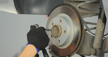Changing Brake Discs on OPEL ASTRA H (L48) 1.3 CDTI (L48) 2007 by yourself