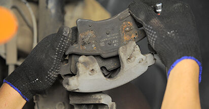 OPEL ASTRA 1.4 (L48) Brake Pads replacement: online guides and video tutorials