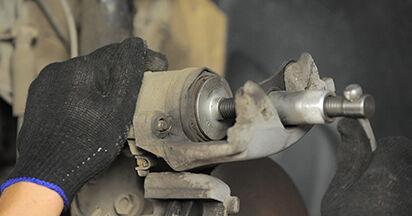 ASTRA H (L48) 1.9 CDTI (L48) 2004 Brake Pads DIY replacement workshop manual