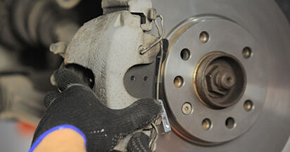 How to remove OPEL ASTRA 1.9 CDTI (L48) 2008 Brake Pads - online easy-to-follow instructions