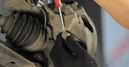 Changing Brake Pads on OPEL ASTRA H (L48) 1.3 CDTI (L48) 2007 by yourself