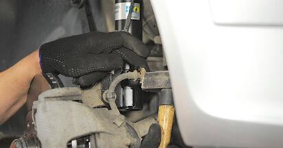 Wie schwer ist es, selbst zu reparieren: Stoßdämpfer Opel Astra h l48 1.7 CDTI (L48) 2010 Tausch - Downloaden Sie sich illustrierte Anleitungen