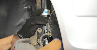 Stoßdämpfer Ihres Opel Astra h l48 1.4 (L48) 2012 selbst Wechsel - Gratis Tutorial