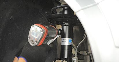Austauschen Anleitung Stoßdämpfer am Opel Astra h l48 2014 1.7 CDTI (L48) selbst