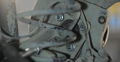 Radlager Opel Astra h l48 1.4 (L48) 2006 wechseln: Kostenlose Reparaturhandbücher