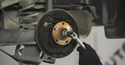 Jaké náročné to je, pokud to budete chtít udělat sami: Lozisko kola výměna na autě Skoda Octavia 1u 1.9 TDI 2002 - stáhněte si ilustrovaný návod