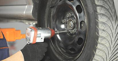 Austauschen Anleitung Spurstangenkopf am Skoda Octavia 1u 2006 1.9 TDI selbst